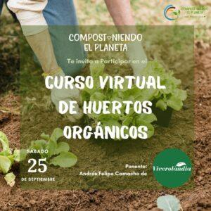 Curso virtual de huertos orgánicos
