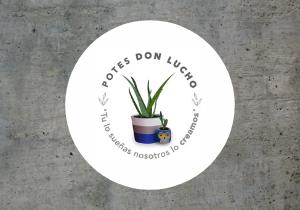 potes don lucho mini logo cemento